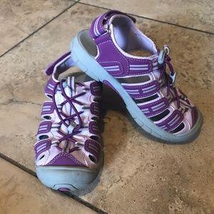 Khombu Sandy Purple Lavender Waterproof Sandals 1